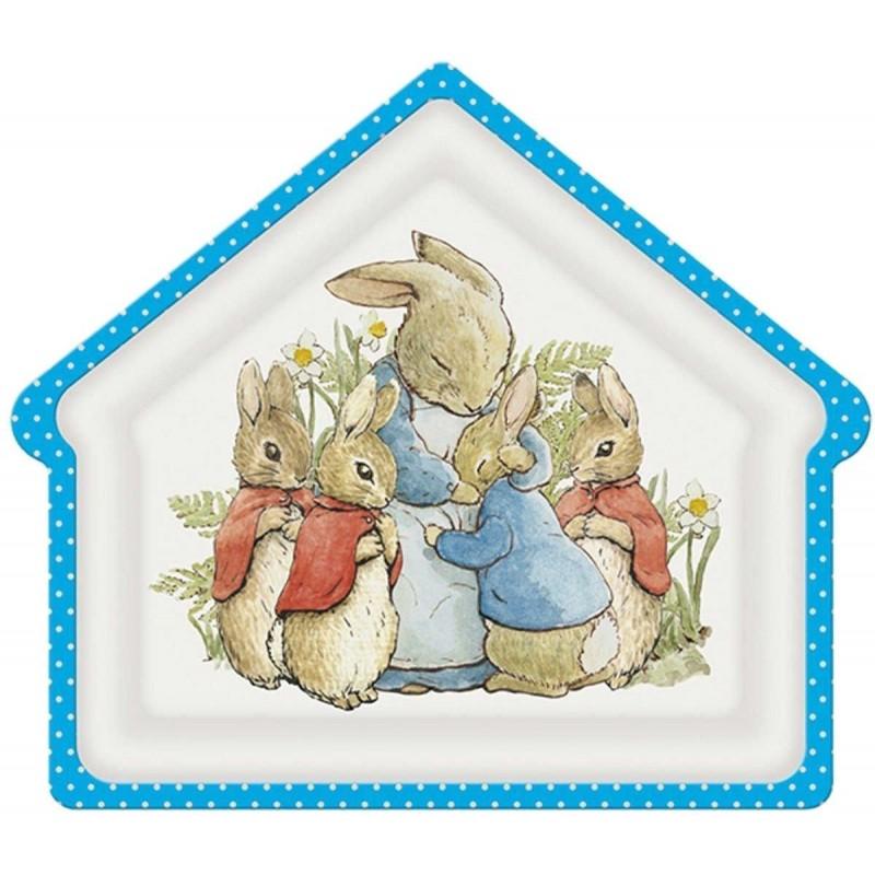 Talerz dla dzieci Domek Królik Piotruś, Petit Jour