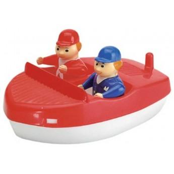 AquaPlay Motorówka i 2 figurki do zabawy w kąpieli