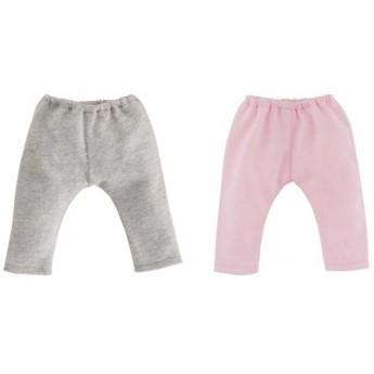 Ubranka dla lalek Vanilla 36cm legginsy szare, różowe, Corolle