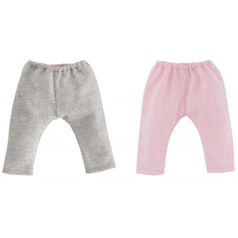 Ubranka dla lalek Vanilla 36cm 2 bluzeczki biała i różowa, Corolle