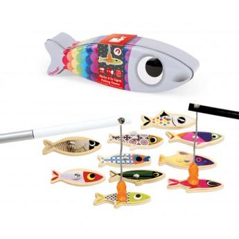 Gra łowienie ryb Sardynka dla 2 latków, Janod