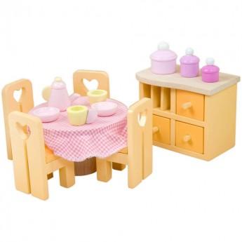 Jadalnia Sugar Plum do domków dla lalek, Le Toy Van
