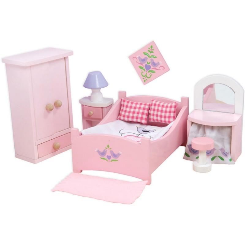 Sypialnia Sugar Plum do domków dla lalek, Le Toy Van