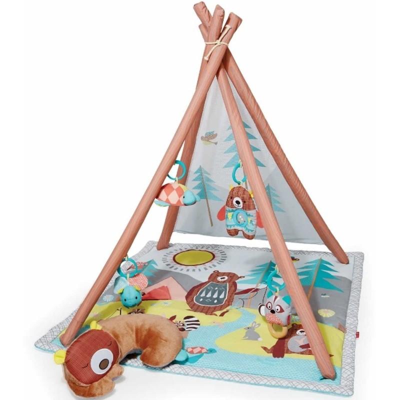 Skip Hop mata edukacyjna Tipi Camping dla niemowląt