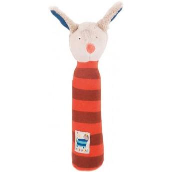 Piszczałka Piesek zabawka dla niemowląt, Moulin Roty
