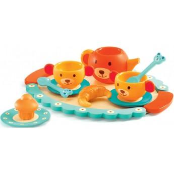 Djeco Zestaw śniadaniowy Teddy's Party zabawka od 3 lat