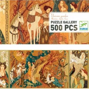 Dama z Jednorożcem Puzzle Gallery 500 elementów, Djeco