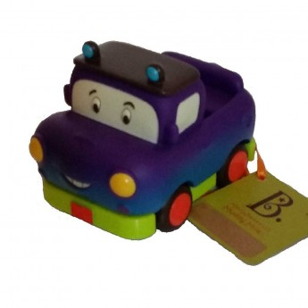 Samochodzik z napędem fioletowy Muddy Miles, B.Toys