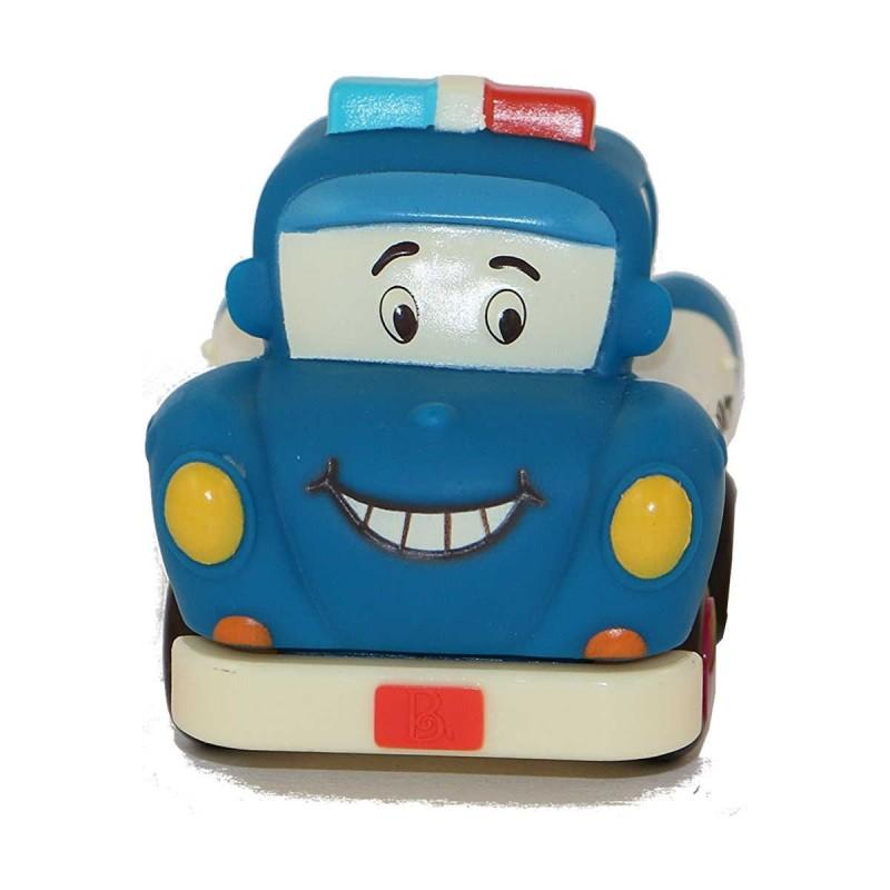Samochodzik z napędem niebieski Officer Lawly, B.Toys