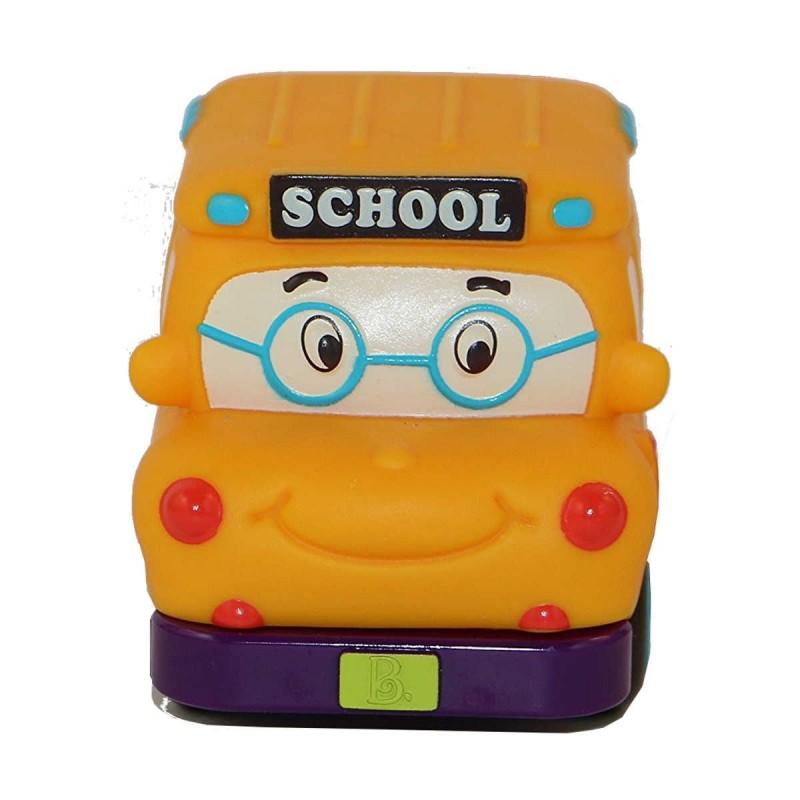 Samochodzik z napędem żółty Yellow Bus Gus, B.Toys