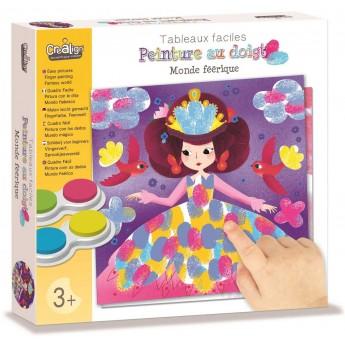 Malowanie palcami Wróżki zabawka plastyczna, Crea Lign'