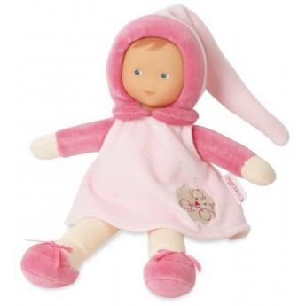 BABI Miss Pink Cotton Flower lalka dla niemowląt, Corole