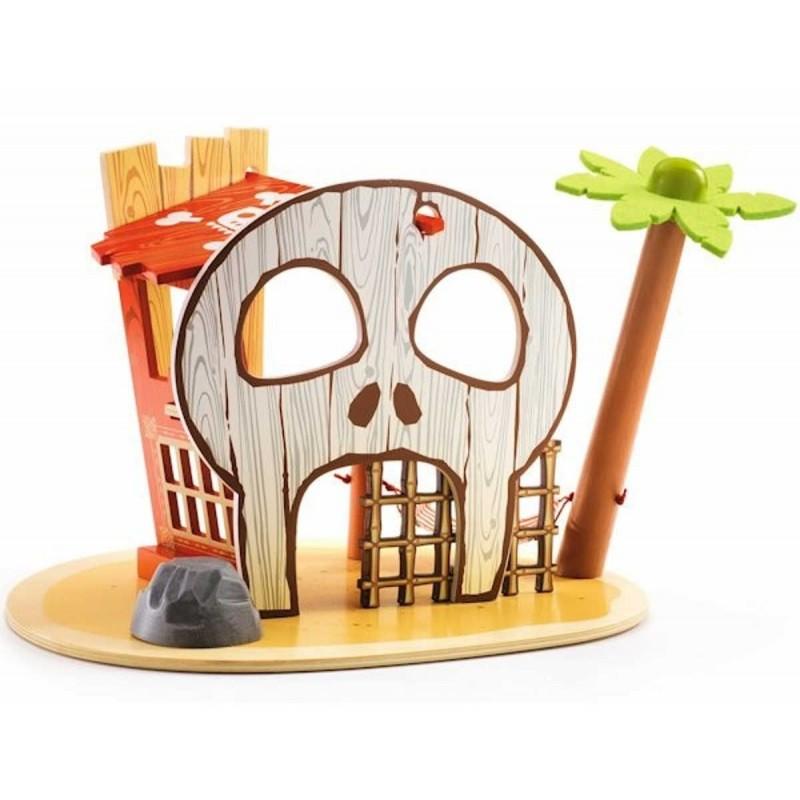 Wyspa piratów z figurką zabawka, Djeco