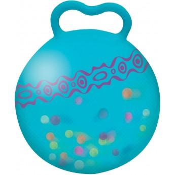 B.Toys piłka do skakania z uchwytem niebieska Hop n' Glow