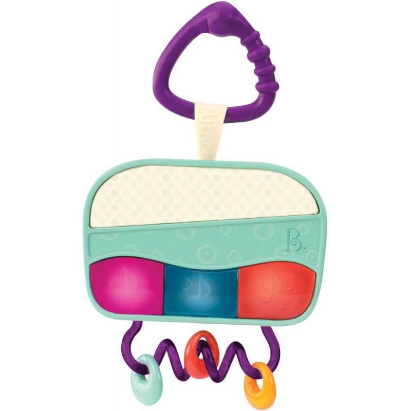 B.Toys radio dla niemowląt Wee Jams muzyka i światło