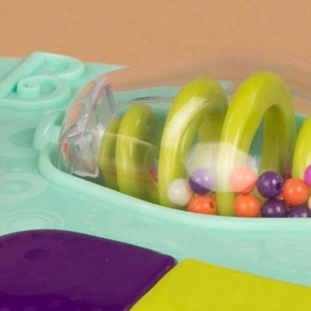B.Toys konsola grająca dla niemowląt z przyssawkami Whirly Pop