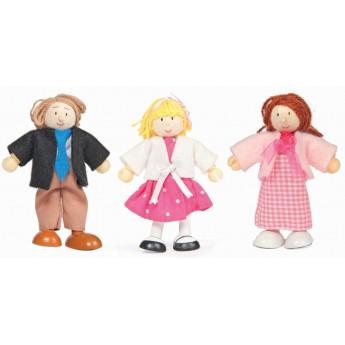 3 lalki drewniane, Le Toy Van