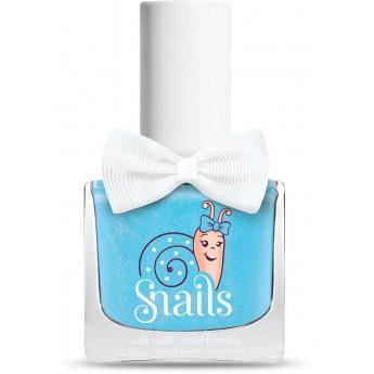 Niebieski lakier do paznokci dla dzieci Snails Bebe Cloud