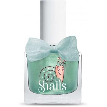 Zielony lakier do paznokci dla dzieci Snails Bebe Magic Crystal