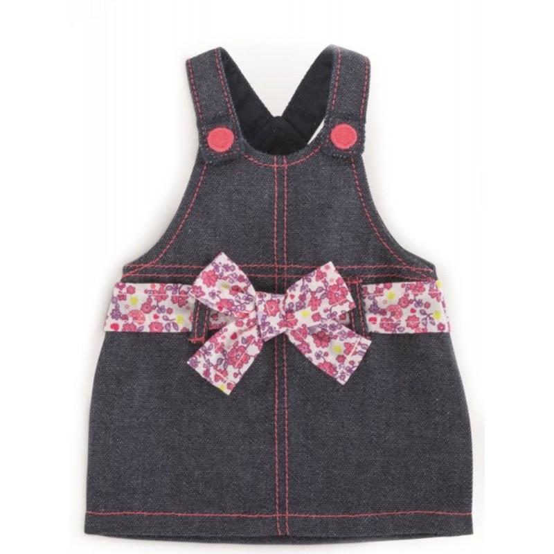Ubranka dla lalek Vanilla 36cm sukienka dżinsowa, Corolle