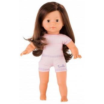 Lalka dla dzieci Vanilla Szatynka Brown Eyes 36cm z długimi włosami, Corolle