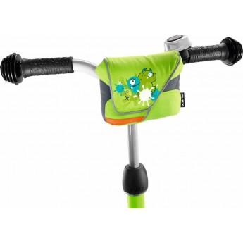 Torba na kierownicę hulajnogi zielona, Puky