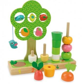 OUTLET Vilac uczę się liczyć warzywa gra edukacyjna