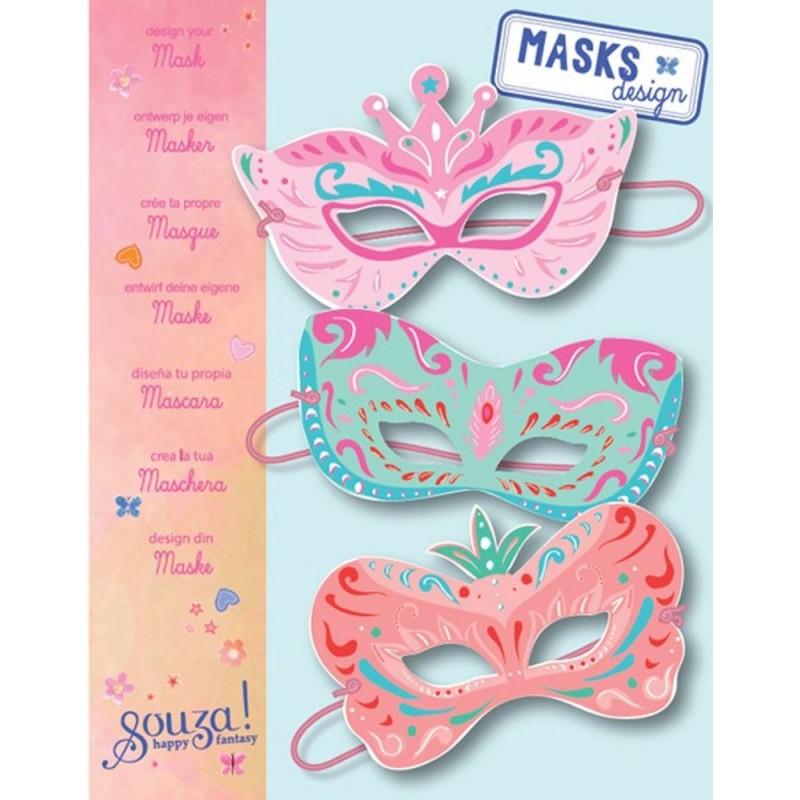 Zestaw do robienia maski księżniczki, Souza for Kids