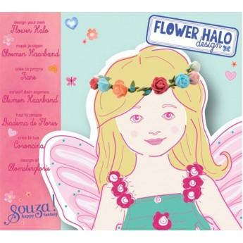 Zestaw do robienia opasek do włosów z kwiatami, Souza for Kids