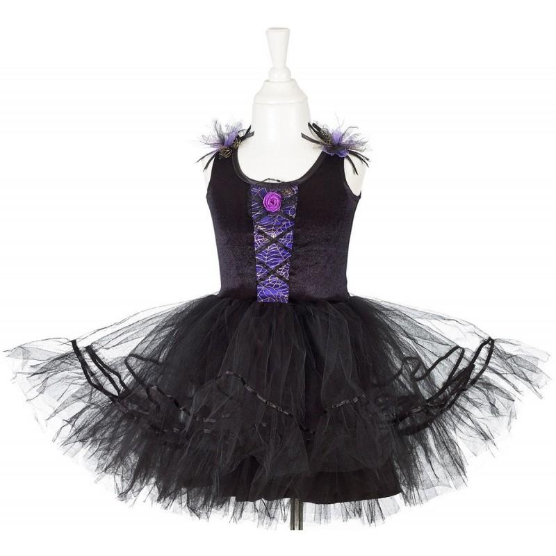 Strój czarownicy czarna sukienka, Souza!
