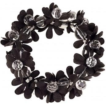 Bransoletka elastyczna czarna dla dziewczyn Merel, Souza!