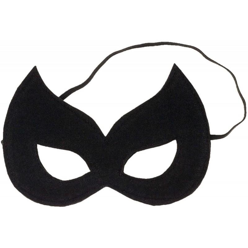 Maska czarna dla dziewczyn Kaya na Halloween lub na bal, Souza!