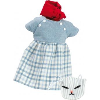 Ubrania Mila dla lalek 34cm by S.Natterer, Petitcollin