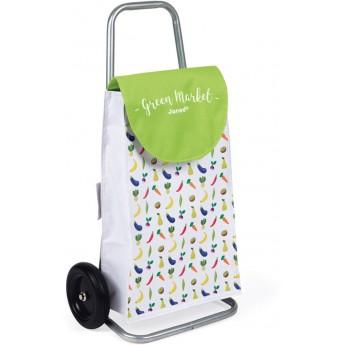 Janod Koszyk wózek na zakupy do zabawy w sklep