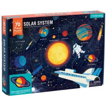 Mudpuppy Puzzle Układ Słoneczny z elementami w kształcie planet 5+, Mudpuppy