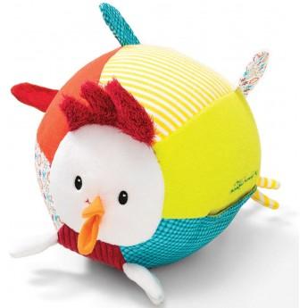 Lilliputiens Piłka muzyczna dla niemowląt Kurczak John