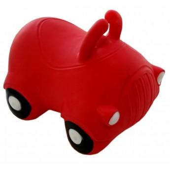 Skoczek gumowy dla dzieci 1+ Auto Czerwone, KidZZFarm