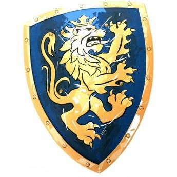 Tarcza rycerza niebieska Noble Knight zabawka piankowa, Liontouch