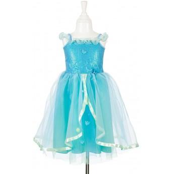 Sukienka balowa niebieska Carlotte dla dziewczynki, Souza!