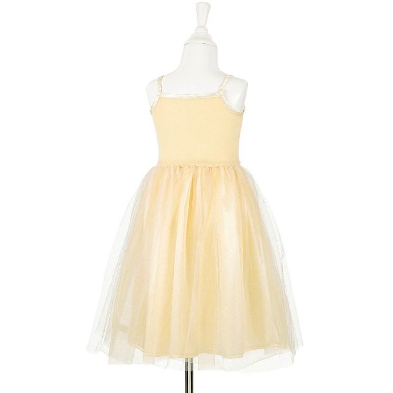Sukienka balowa szampańska Barbara dla dziewczynki, Souza!