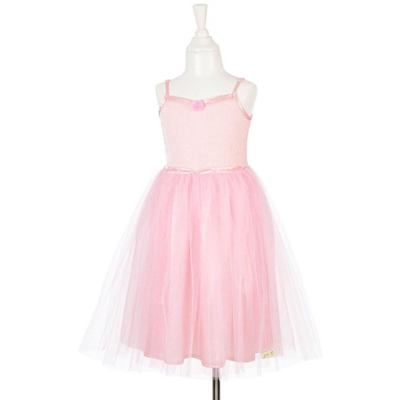 Sukienka balowa pudrowa Barbara dla dziewczynki, Souza!