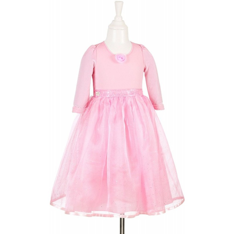 Sukienka balowa różowa Aline dla dziewczynki 3-4 lata, Souza!