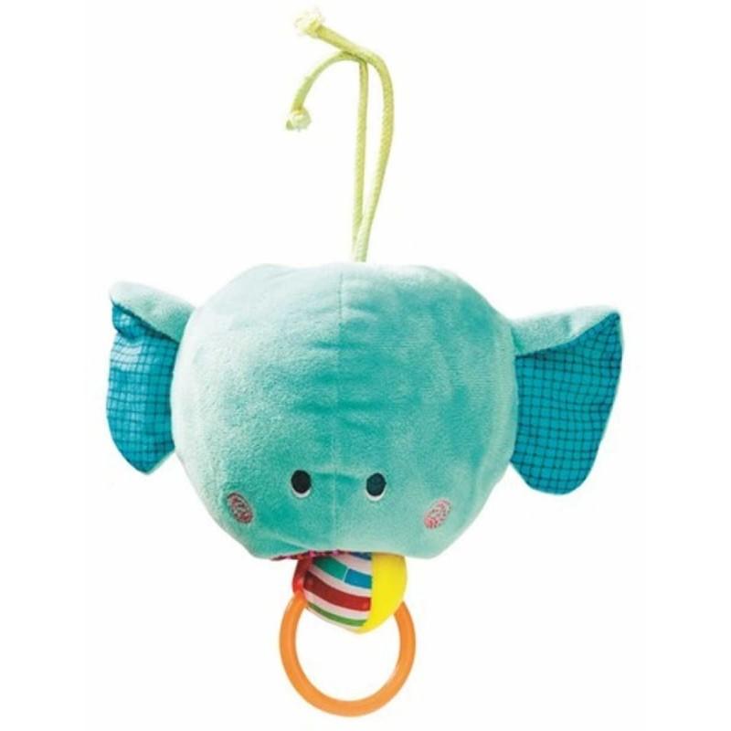 Lilliputiens zabawka wibrująca Słoń Albert z zawieszką dla niemowląt