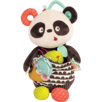 B.Toys Pluszowa Panda zabawka sensoryczna Party Panda