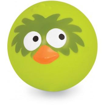 B.Toys Limonkowa sprężysta piłka z odgłosami ptaka