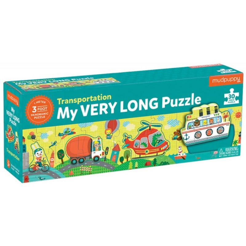 Mudpuppy Metrowe puzzle Transport 30 elementów