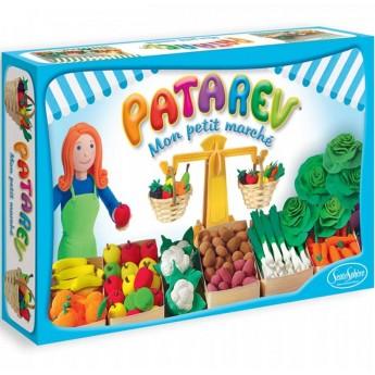 Stragan z warzywami i owocami do robienia z masy Patarev 8+, SentoSphere