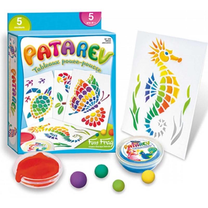 Obrazy z masy plastycznej Patarev do robienia dla 5 latków, SentoSphere