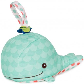 B.Toys Szumiący i świecący Wieloryb dla niemowląt