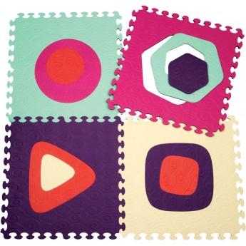 B.Toys Puzzle piankowe malinowe Fancifloor